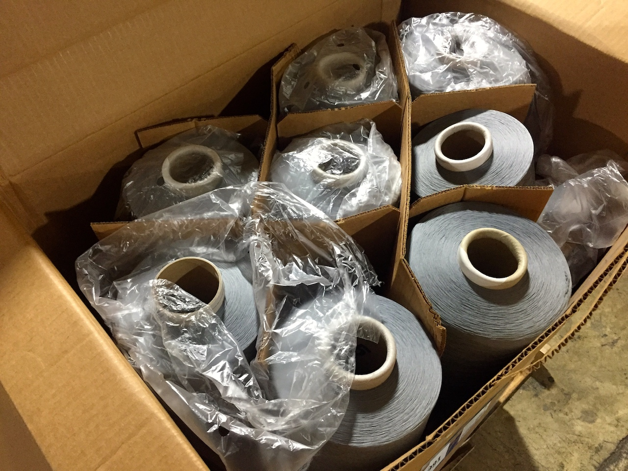Assorted Dyed Nylon Yarns