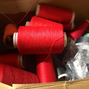 Assorted Dyed Nylon Yarns